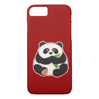 Fetter Panda iPhone 8/7 Hülle