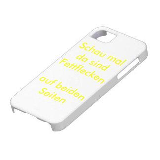Fettfleckparadies iPhone 5 Etuis