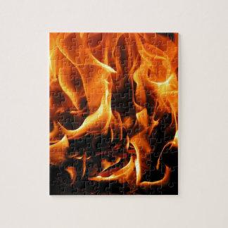 Feuer, Flammen Puzzle