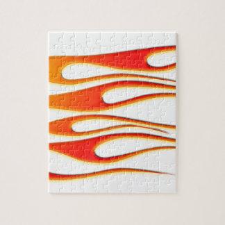 Feuer-Flammen Puzzle