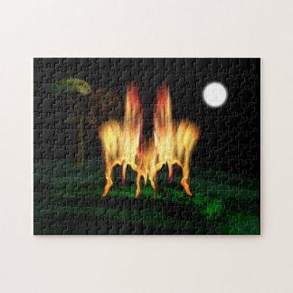 Feuer-Fliege Puzzle
