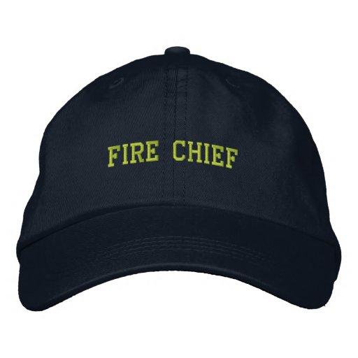 Feuer Leiter-Gestickter Hut Baseballcap