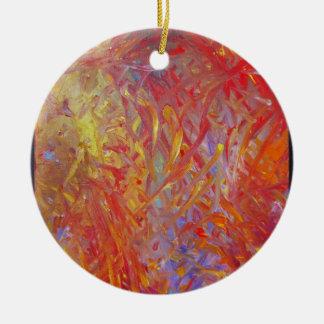 Feuer-Malerei, zum herauf alles zu erhellen! Keramik Ornament