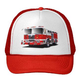 Feuer-Motorbilder für Fernlastfahrerhüte