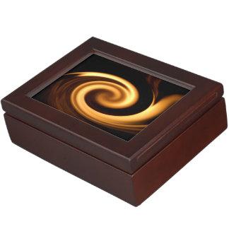 Feuer-Strudel Erinnerungsboxen