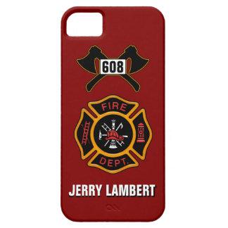 Feuerwehr-Abzeichen-Namen-Schablone Hülle Fürs iPhone 5