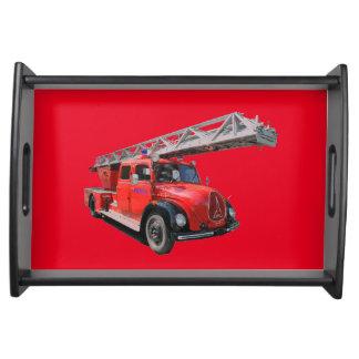 Feuerwehr Serviertabletts