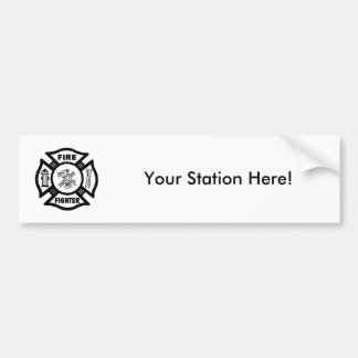 Feuerwehrmann Autoaufkleber
