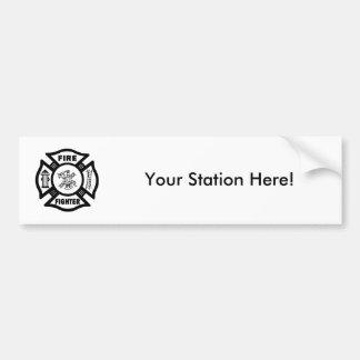 Feuerwehrmann EMT Autoaufkleber