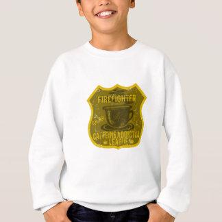 Feuerwehrmann-Koffein-Sucht-Liga Sweatshirt