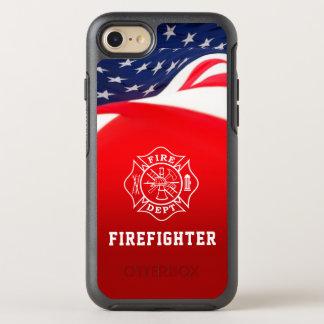 Feuerwehrmann-Malteserkreuz iPhone 7 Fall OtterBox Symmetry iPhone 7 Hülle