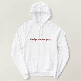Feuerwehrmänner Tochter-Hoodie Bestickter Hoodie