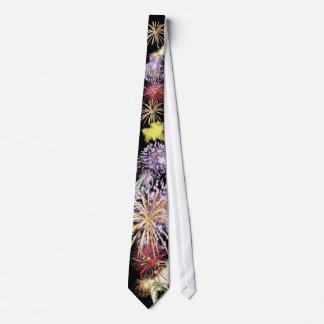 Feuerwerk-Power-Krawatte Personalisierte Krawatte