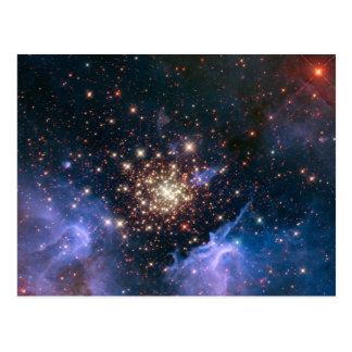Feuerwerke im Raum Postkarte
