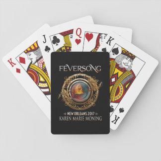 Feversong 2017 Spielkarten, Standardgesichter Spielkarten