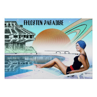 Fhloston Paradies ~ interplanetarische Reise Poster