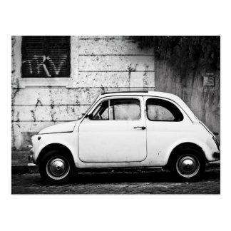 Fiat 500 in Rom, Italien Postkarten