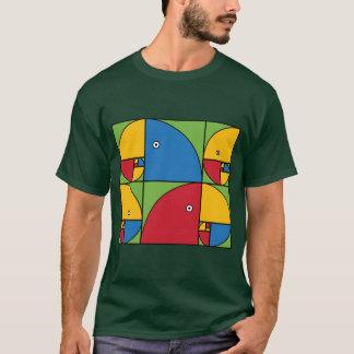 Fibonacci-Papageien T-Shirt