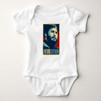 Fidel Castro - kubanischer Revolutions-Präsident Baby Strampler