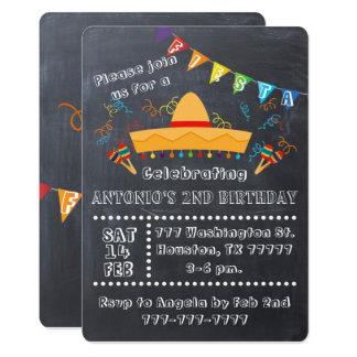 Fiesta-Einladung, Fiesta-Party, Fiesta-Geburtstag Karte