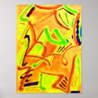 Figurative Malerei: Etílicos Poster