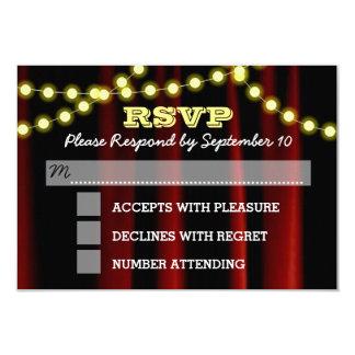 Film beleuchtet gelbe Bar Mitzvah UAWG Karte 8,9 X 12,7 Cm Einladungskarte