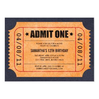 Film-Karten-Einladungen 12,7 X 17,8 Cm Einladungskarte