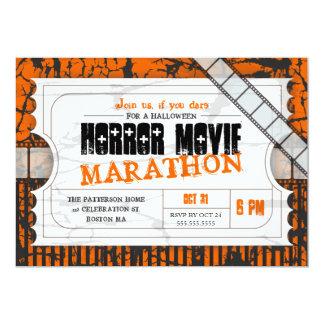 Film-Karten-Halloween-Horror-Film-Party 12,7 X 17,8 Cm Einladungskarte