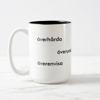 Film-Klassiker-Kaffee Zweifarbige Tasse