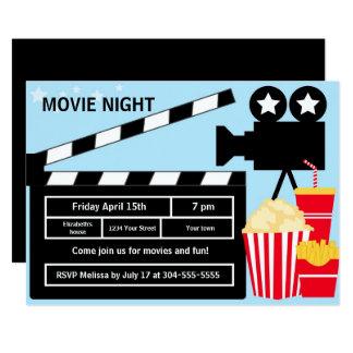Film-Nachtgeburtstag Karte