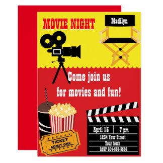 Film-NachtParty Karte