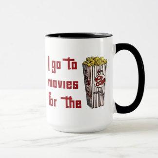 Film-Popcorn Tasse
