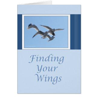 Finden Ihrer Flügel Karte