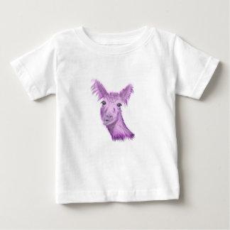 Finger-vornehmes Lama Baby T-shirt