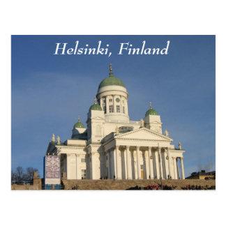 Finnische evangelische lutherische Kathedrale Postkarte