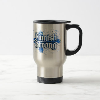 Finnisches starkes (Hockey) Edelstahl Thermotasse