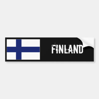 Finnland-Flaggen-Autoaufkleber Autoaufkleber