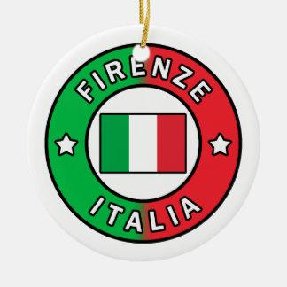 Firenze Italien Keramik Ornament