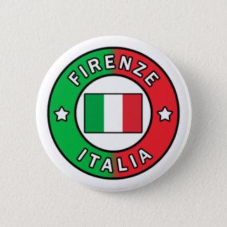 Firenze Italien Runder Button 5,7 Cm