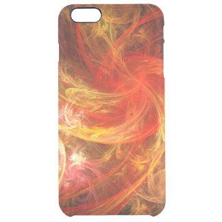 Firestorm-Nova-abstrakte Kunst Durchsichtige iPhone 6 Plus Hülle
