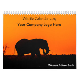 Firmenlogo-Tier-Kalender 2017 Wandkalender