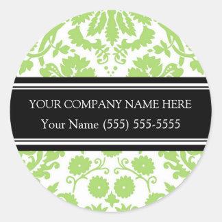 Firmennamen-Aufkleber Business Custom Company Runder Aufkleber