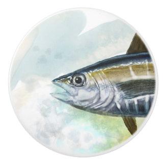 Fisch-Griff Keramikknauf