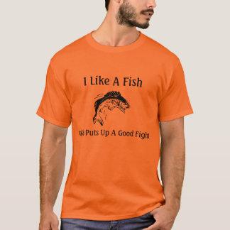 Fisch-Kampf T-Shirt