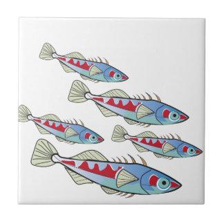 Fischartiger Freitag Fliese