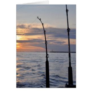 Fische an! grußkarten