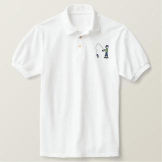 Fischer Besticktes Polo Hemd