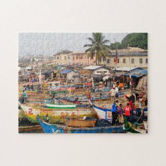 Fischer von Ghana Puzzle