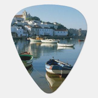 Fischerdorf von Ferragudo, Algarve, Portugal Plektrum