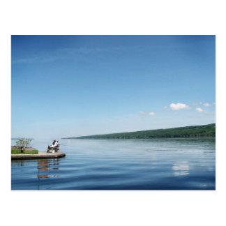Fischerei auf Cayuga See Postkarten